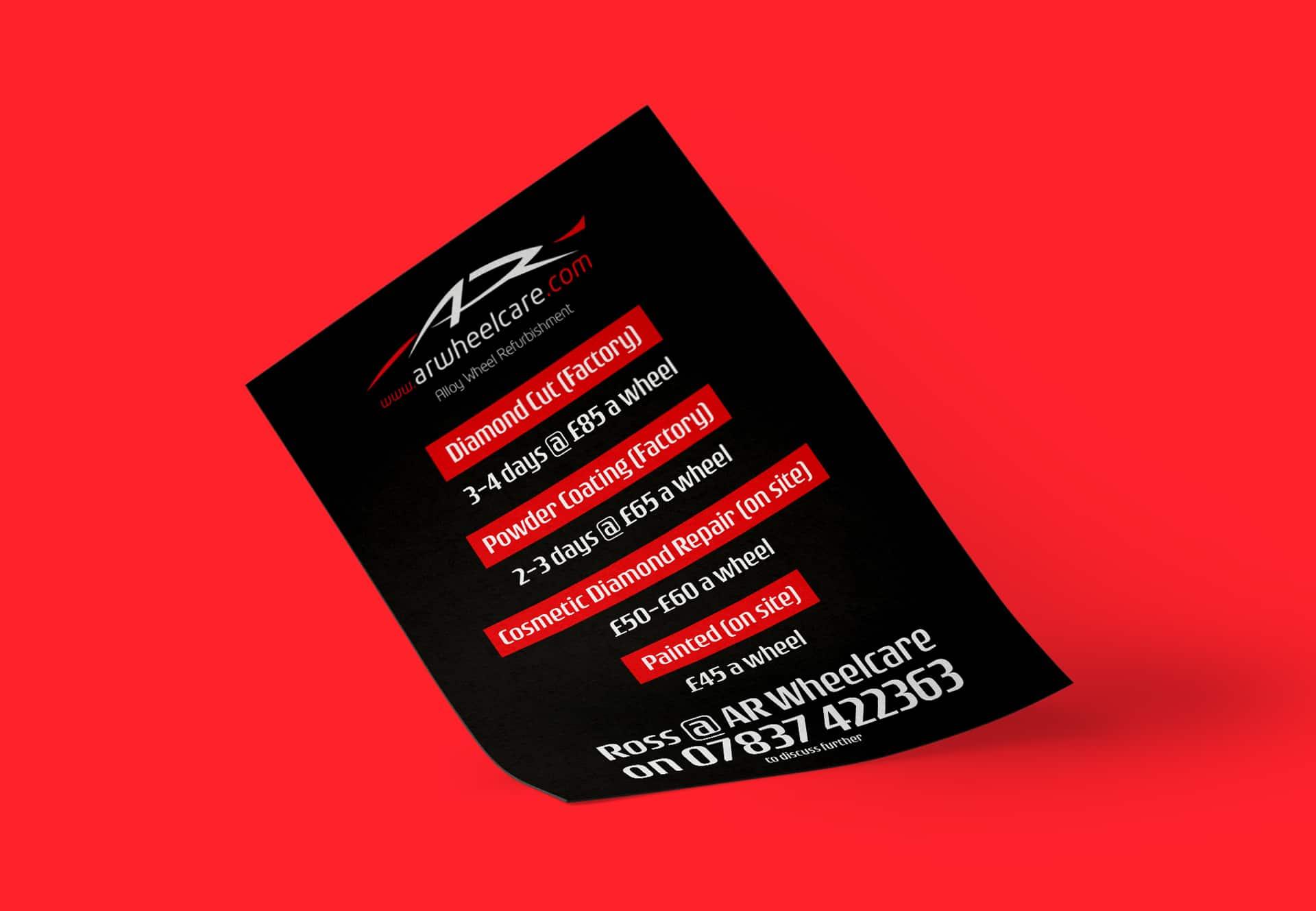 AR Wheel Care flyer
