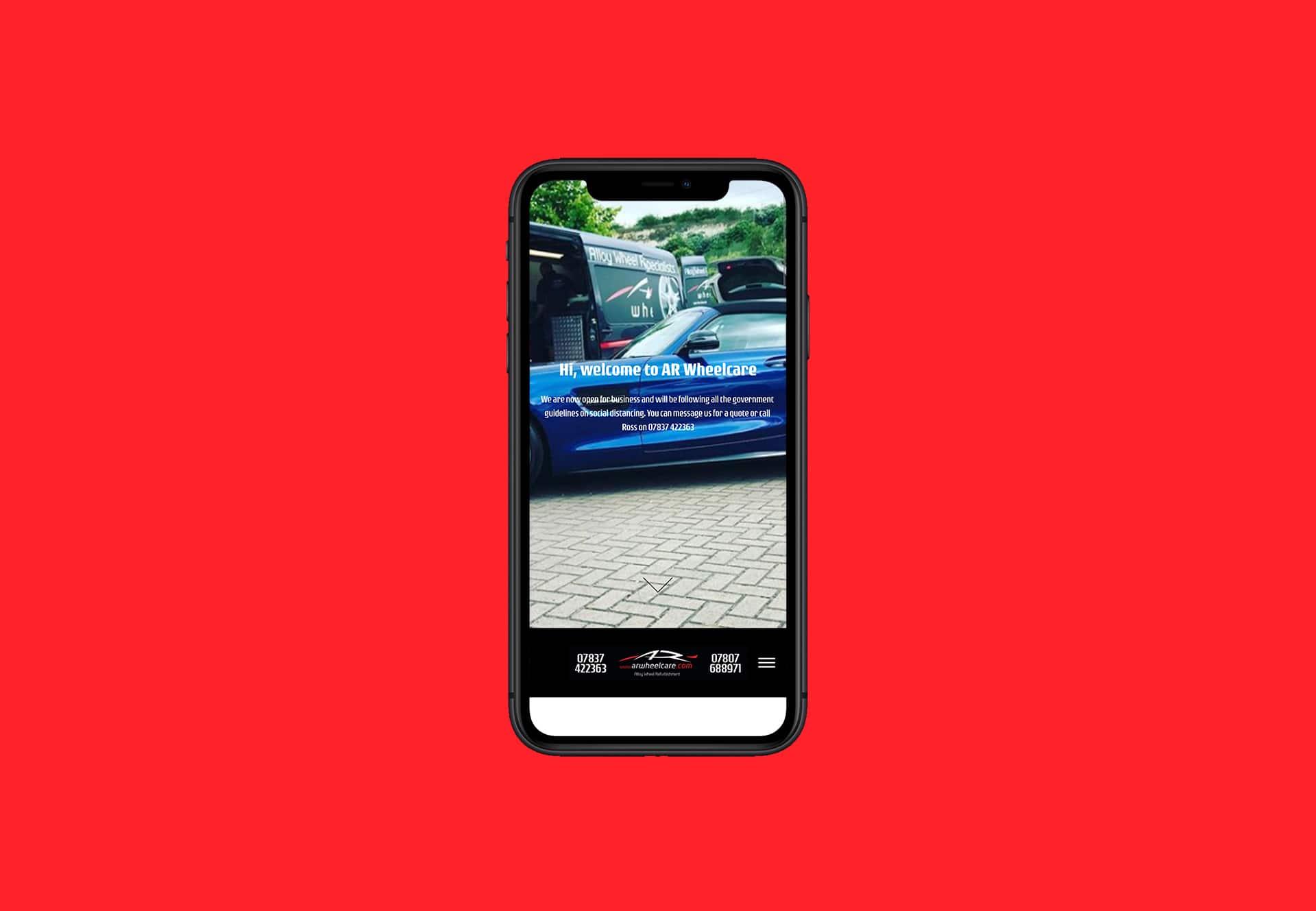 AR Wheel Care iphone