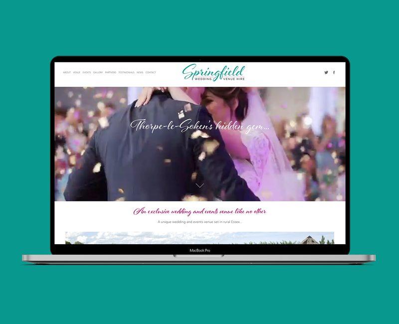 Springfielf Wedding Venure mac feature copy
