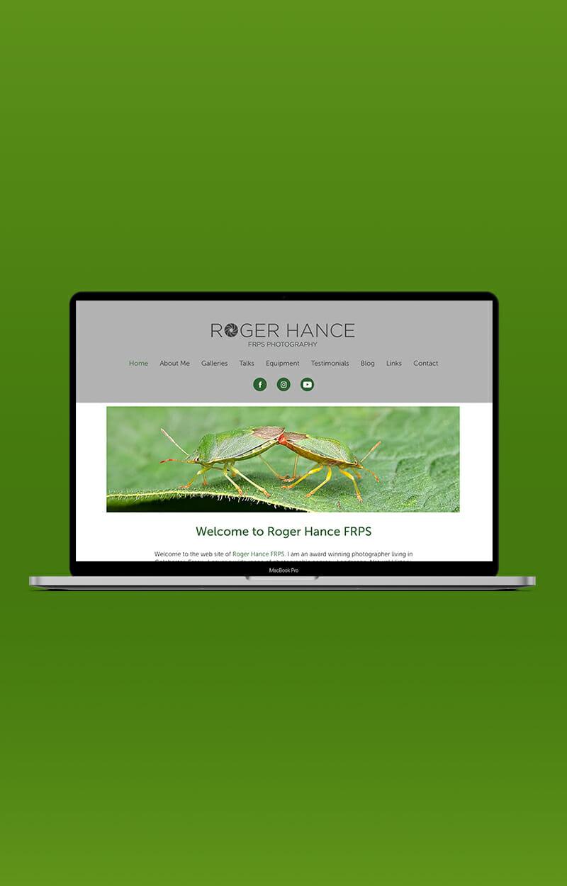 Roger Hance FRPS Website